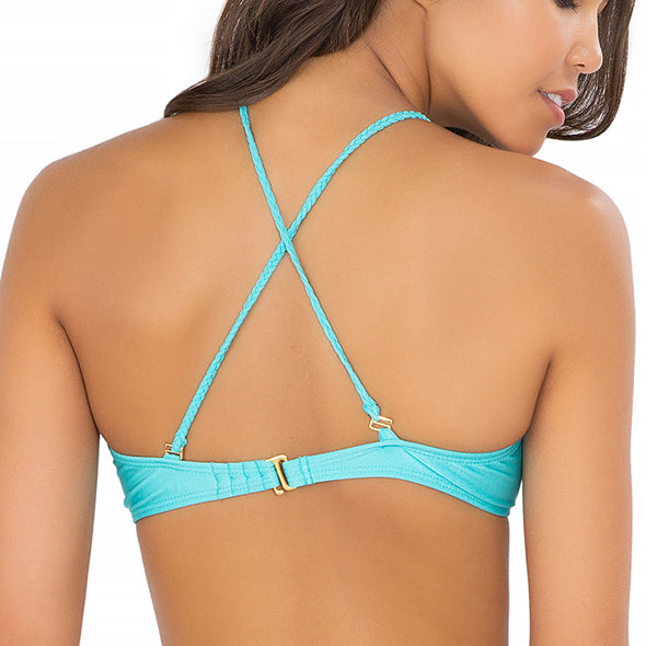 BORRACHERA DE MAR - Zig Zag Cut Out Bra