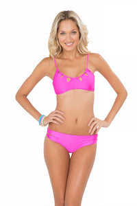BORRACHERA DE MAR - Zig Zag Cut Out Bra & Zig Zag Open Side Full Bottom • Too Hot Miami