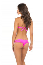 BORRACHERA DE MAR - Zig Zag Open Center Bandeau & Zig Zag Open Side Skimpy Bottom • Too Hot Miami