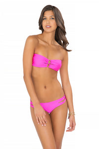 BORRACHERA DE MAR - Zig Zag Open Center Bandeau & Zig Zag Open Side Skimpy Bottom • Too Hot Miami (874418667564)