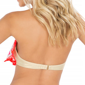 FLAMINGO BEACH - Cascade Push Up Underwire Top