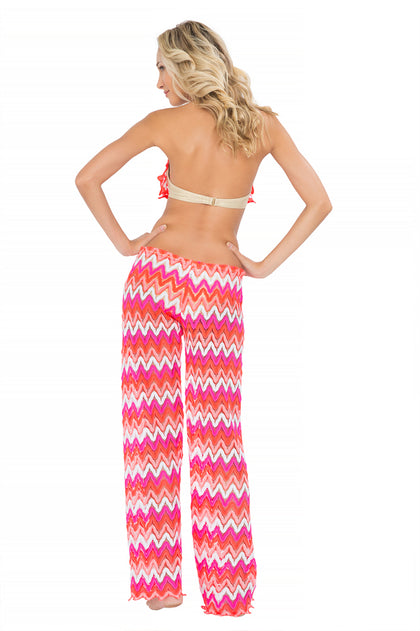 FLAMINGO BEACH - Cascade Push Up Underwire Top & Beach Pant • Multicolor
