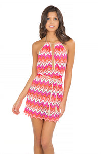 FLAMINGO BEACH - Front Row Mini • Multicolor