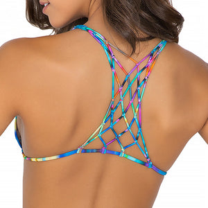 CIELITO LINDO - Knotted Net Back Triangle