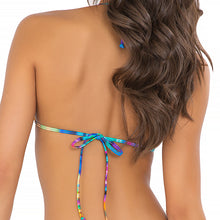 CIELITO LINDO - Molded Push Up Bandeau Halter Top