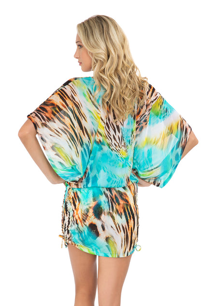 CARIBE MON AMOUR - South Beach Dress • Multicolor