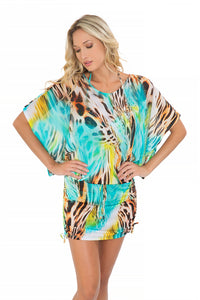 CARIBE MON AMOUR - South Beach Dress • Multicolor (865225605164)