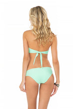 FOR YOUR EYES ONLY - V Cut Net Bandeau & Net Sides Full Bottom • Mint Convertible