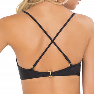 FOR YOUR EYES ONLY - Net Front Criss Cross Back Sporty