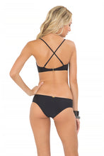 FOR YOUR EYES ONLY - Net Front Criss Cross Back Sporty & Net Sides Moderate Bottom • Black