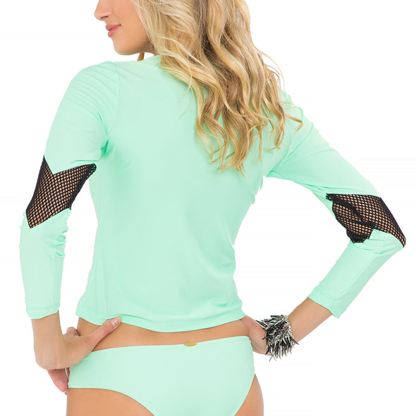 FOR YOUR EYES ONLY - V Front Net Insert Rashguard