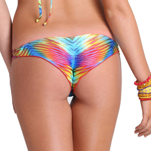 PLAYA VERANO - Strappy Brazilian Ruched Back Bottom
