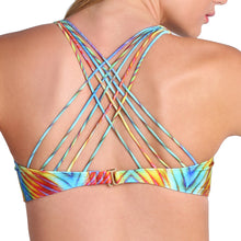 PLAYA VERANO - Multi Cross Strap Bra Top