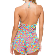 STAR GIRL - Deep V Laced Romper