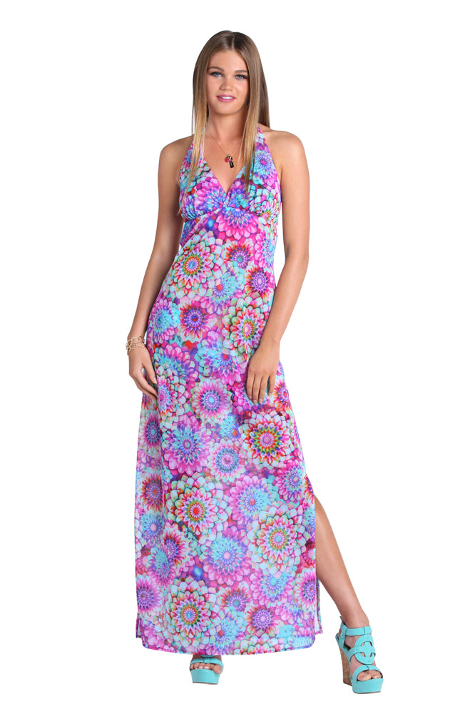 SOL BRILLANTE - Rooftop Gown • Multicolor