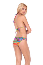 DREAMIN - Triangle Halter Top & Multi Strings Full Bottom • Multicolor