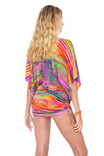 DREAMIN - Cabana V Neck Dress • Multicolor