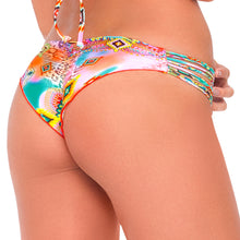 BOHO CHIC - Strappy Brazilian Ruched Back Bottom