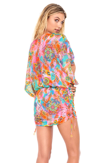 BOHO CHIC - South Beach Dress • Multicolor