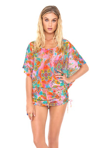 BOHO CHIC - South Beach Dress • Multicolor (874066411564)