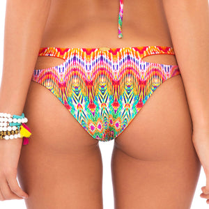 SUNKISSED LAUGHTER - Reversible Zig Zag Open Side Moderate Bottom