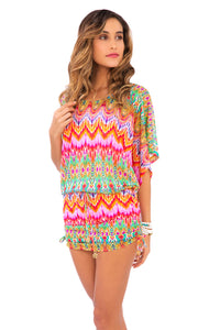 SUNKISSED LAUGHTER - South Beach Dress • Multicolor (874173202476)
