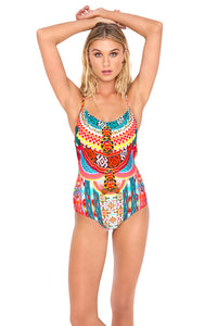 "CHASING WATERFALLS - ""be Scene"" One Piece • Multicolor"