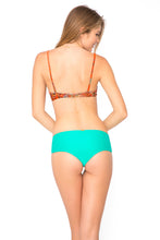 WANDERLUST - Criss Cross Back Bra Top & Crochet Loops High Waist Bottom • Mermaid Crossing