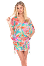 LIBERTAD TORNASOL - Cabana V Neck Dress • Multicolor