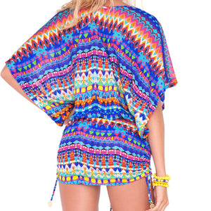 TRIBAL BEACH - Cabana V Neck Dress