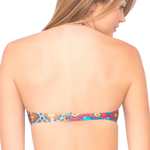 WILD & FREE - Underwire Push Up Bandeau Top