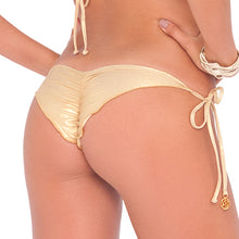 BUENA ONDA - Wavey Ruched Back Brazilian Tie Side Bottom
