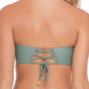 UNSTOPPABLE - Colored Strings Underwire Bandeau Top