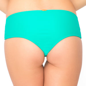 LET'S BE MERMAIDS - Crochet Loops High Waist Bottom