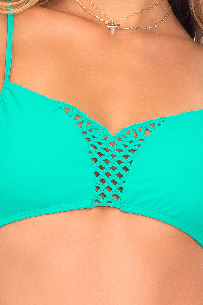 LET'S BE MERMAIDS - Criss Cross Sporty Bra & Buns Out Bottom • Mermaid Crossing