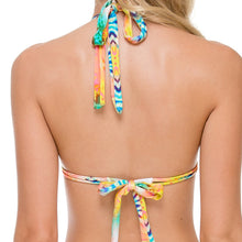 SOL MULTICOLOR - Triangle Halter Top
