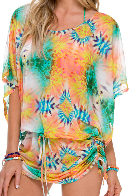 SOL MULTICOLOR - South Beach Dress • Multicolor