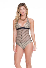DESERT BABE - Chic Halter 1pc • Black