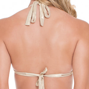 DESERT BABE - Triangle Halter Top