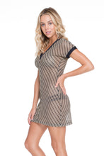 DESERT BABE - Vneck Bodycon Dress • Black