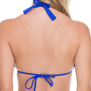 BLUE KISS - Halter Top