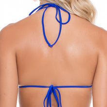 BLUE KISS - Molded Push Up Bandeau Halter Top