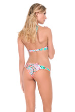 DREAM CATCHER - Underwire Halter Top & Drawstring Back Scrunch Bottom • Multicolor