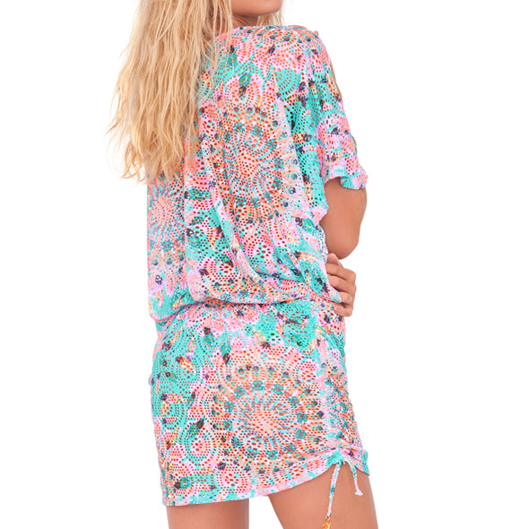 DREAM CATCHER - Cabana V Neck Dress