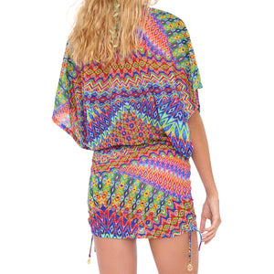 FREE LOVE - Cabana V Neck Dress