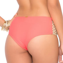 STARFISH WISHES - Gold Net Sides High Waist Bottom