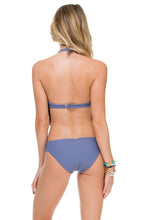 HEART OF A HIPPIE - Weave Fringed Underwire Top & Full Bottom • Blue Moon