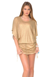 SPIRIT OF A FAIRY - South Beach Dress • Gold
