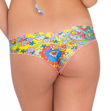 SIREN DANCE - Wavey Ruched Back Brazilian Bottom