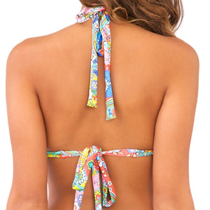 SIREN DANCE - Triangle Halter Top